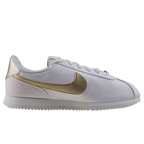 White Sigs Mtlc Nike Cortez Star Basic Adults' Unisex Gold Fitness 105 White Summit Shoes White xPPIvRqw