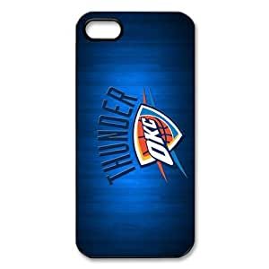 Custom Oklahoma City Thunder New Back Cover Case for iPhone 5 5S CP1233
