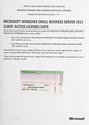 IBM 4849KDF Windows Small Business Server 2011 (CD-ROM)