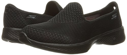Noir Basses Skechers 4 Baskets Propel Walk bbk Femme Go qxp0XPT