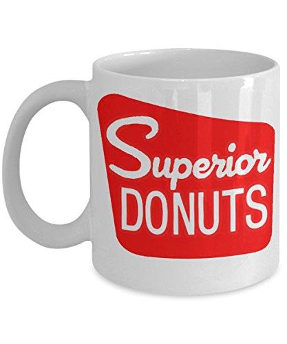 Superior Donuts TV Coffee Shop Inspired White 11 oz Coffee Mug