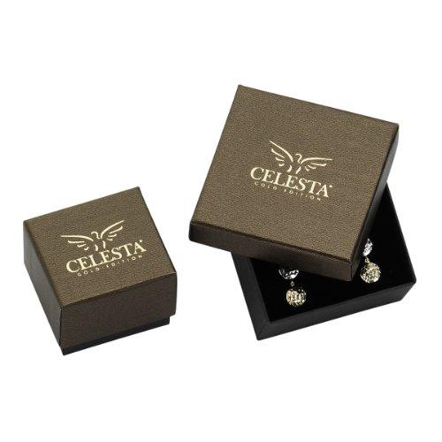 Celesta Gold - 229320015 - Boucles d'Oreilles Femme - Or jaune (9 carats) 1.95 Gr