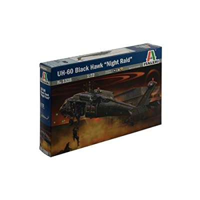 Italeri 1328S 1: 72 - UH-60/Mh-60 Black Hawk 'Night Raid': Toys & Games