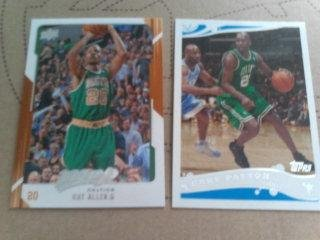 21 Boston Celtics Basketball Cards Lot. Paul Pierce/kevin Garnett/eddie House/ray Allen Plus More Star Players Basketball Cards