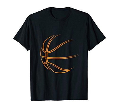Mens Basketball Novelty T-Shirt - Basketball Player Gift Idea Large Black