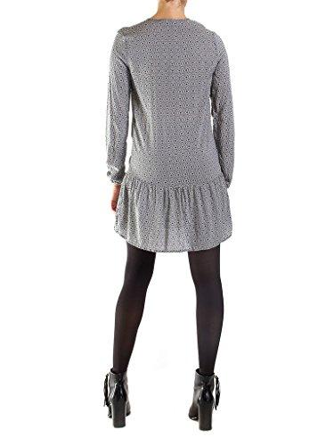 Geometrisch Jeans Carrera form Kleid fit Z09 tunika für 492 frau Fantasie langarm regular PqWwdqOHF