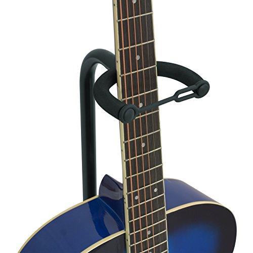 tiger universal guitar stand in black folding guitar stand acoustic guitar stand classical. Black Bedroom Furniture Sets. Home Design Ideas