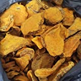 Herbal Cure - Dried Turmeric Root Sliced 250g - Curcuma - 姜黄片 - 100% Natural - No Color Added - Non GMO - No Additives - Product of China