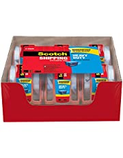 """Scotch Strapping Tape, 1.8"""" x 9m, 1 Roll with Dispenser"""