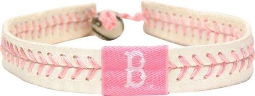 - GameWear MLB Boston Red Sox BraceletPink Soccer Bracelet, Team Colors, One Size