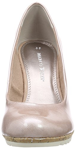 Marco Tozzi 22401 - Zapatos de vestir de material sintético para mujer Rosa (Rose 521)