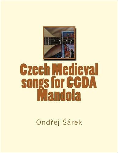 Czech Medieval songs for CGDA Mandola