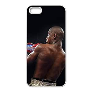 iPhone 4 4s Cell Phone Case White hf41 floyd mayweather undefeated champion boxing sports X3H3DI