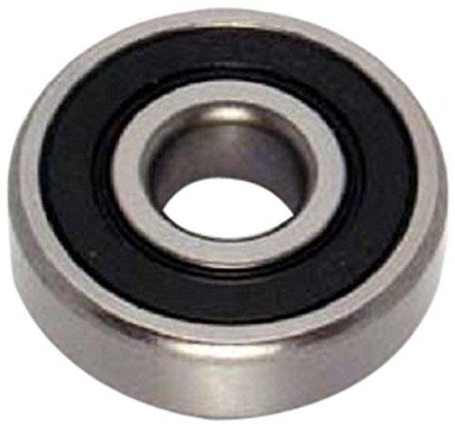 Peer Bearings - Peer Bearing 6203-2RLD-C3 6200 Series Radial Bearings, C3 Fit, 17 mm ID, 40 mm OD, 12 mm Width, Double Lip Seal