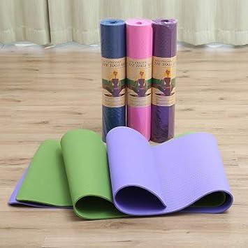 AJMIO TPE - Esterillas de Yoga Antideslizantes para Fitness ...