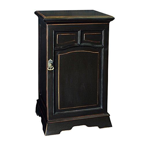 Antique Revival PL Home Wooden Base with Door, (Antique Pine Corner Cabinet)