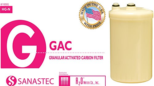 NEW! HG-N type replacement filter for Kangen Enagic water ionizer, Made in USA with NSF certified materials, compatible