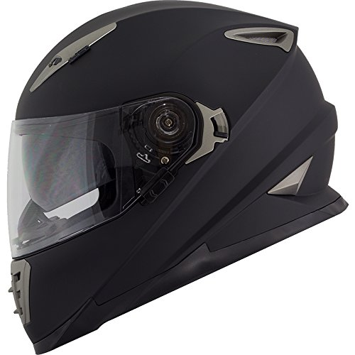 - Duke DK-160 Full Face Motorcycle Helmet (Large)