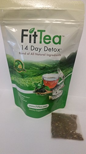 Fit Tea 14 Day Detox Herbal Weight Loss Tea Bags- Natural Weight Loss
