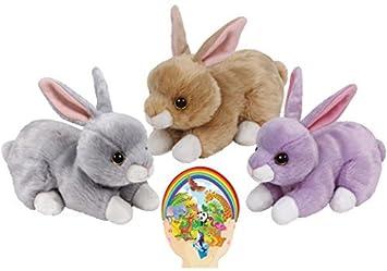 29734d58a46 Ty Beanie Babies Rabbits Nibbler