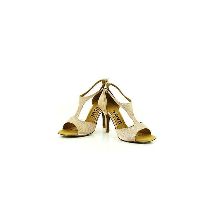 Dance Shoes Quietness Donna Professione Scarpe Da Ballo Nero Us6 5 7 eu37 uk4 5 5 cn37