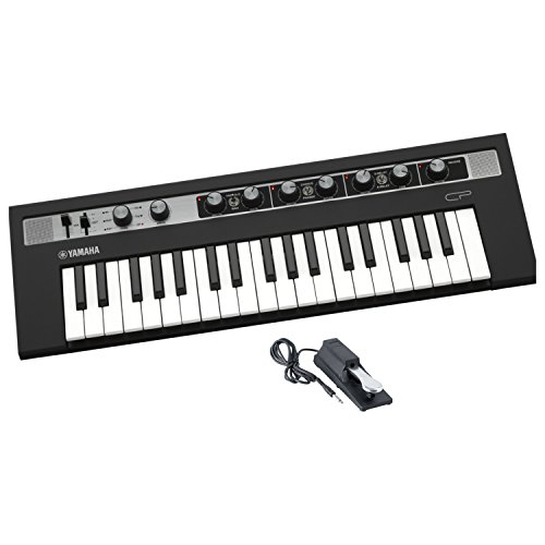Yamaha Reface CP Mobile Mini Electric Piano with Built-in Effects and Sustain Pedal