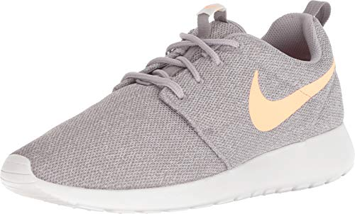 Nike Womens Roshe One Running Shoes Atmosphere Grey/Orange Plus 844994-010 Size 9 (Orange Nike Shoes Women)