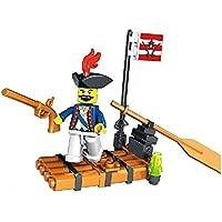 Kidoloop ladrillo bloque construcción pequeño barco pirata barco