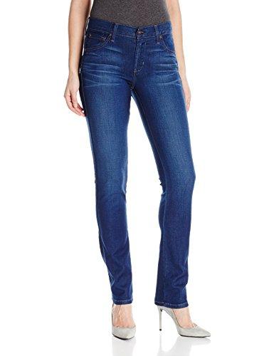 James Jeans Women's Slim Pencil Mid Rise Cigarette Leg Jean, Delphi, - Rise Pencil High Leg