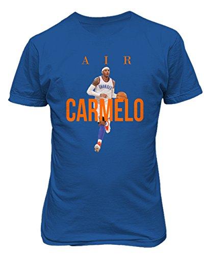 Oklahoma City Anthony  Air Carmelo  T Shirt  Royal S