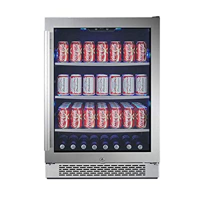 Avallon ABR241GRH 24 Inch Wide Beverage Center with Right Swing Door