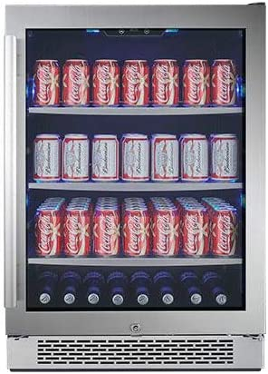 Avallon ABR241SGRH 140 Can 24 Built-In Beverage Cooler