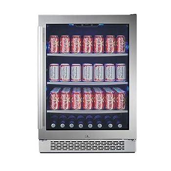AVALLON ABR241SGRH 140 Cans Beverage Cooler/ Refrigerator