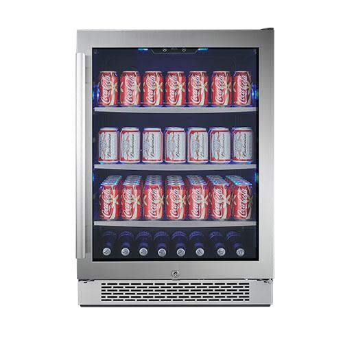 Beverage Solid Door Center (Avallon ABR241SGRH 152 Can 24