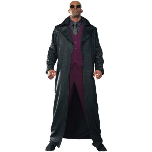 Rubie's Costume Co The Matrix: Morpheus Adult (Morpheus Matrix Costume)