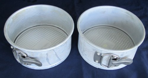(2) Pair of WILTON Springform Cake Cheesecake Baking Pan - 6 inch x 3 inch