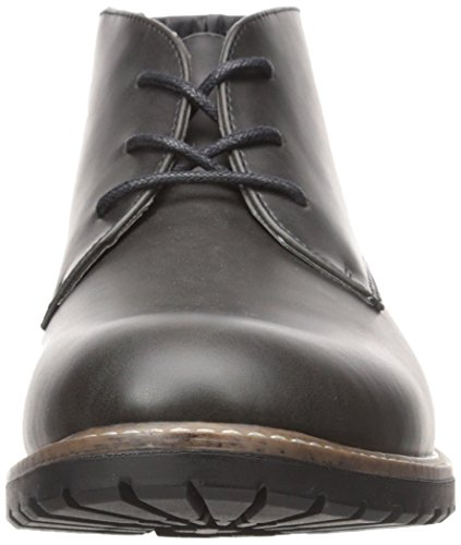 Kenneth Cole Onoterade Mens Trail Mix Chukka Boots Svart