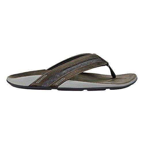 Pantofola Olukai Ikoi - Uomo Carbone / Carbone Di Legna