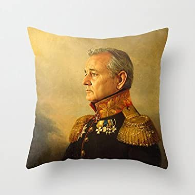 New Throw Pillow Cover pillowcases New Bill Murray - Replaceface Pillowcase H...