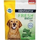 Pedigree Dentastix Fresh Biscuit Large Dog Treats (3 lb)