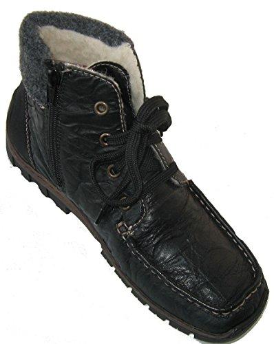 Rieker Z2322-00 mujer bootee noire