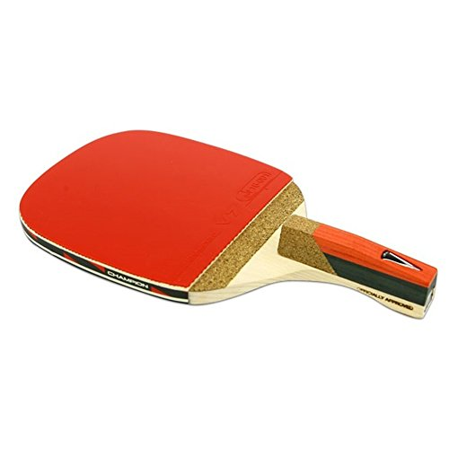 V 2.5 P Penhold Ping Pong Racket Table Tennis & Free Gift (Key Ring) by Jisam Trade