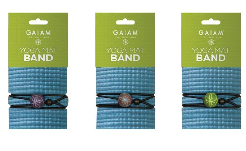 Gaiam Yoga Mat Band (Sold Individually with Assorted Colors)