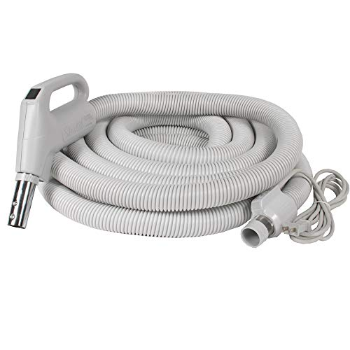 Stealth Universal Dual Voltage Electric Central Vacuum Hose (35ft Pigtail)