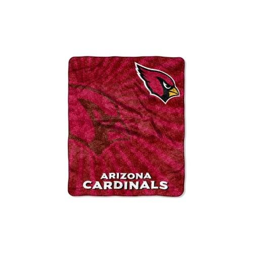 Nfl Bed Cardinals Arizona (The Northwest Company NFL Arizona Cardinals Strobe Sherpa on Sherpa Throw, 50