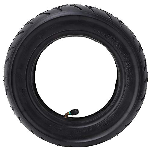 VGEBY1 Scooter Inflatable Tyre, 10 Inch Solid Lightweight Rubber Outer Tire & Inner Tube Set Compatible with Mijia M365 Electric Scooter Scooter Tire Wheel Replacement (Inflatable Tire Set)