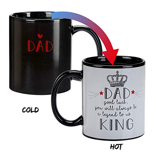 - Fanny Heat Changing Coffee Mug DULING Fanny Cup for Dad, Birthday , Father's Day