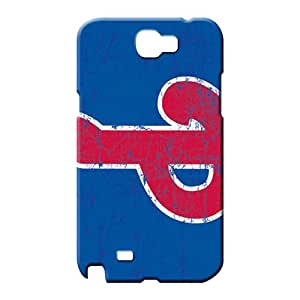 samsung note 2 Excellent Fitted Designed High Grade Cases cell phone shells philadelphia phillies mlb baseball