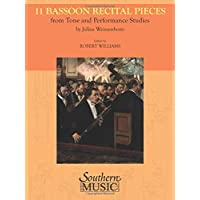 11 Bassoon Recital Pieces from Tone and Performance Studies