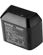 Fomito Godox WB400P - Batería Recargable de Iones de Litio para Godox AD400Pro, XPLOR 400 Pro Flash (21,6 V, 2600 mAh)